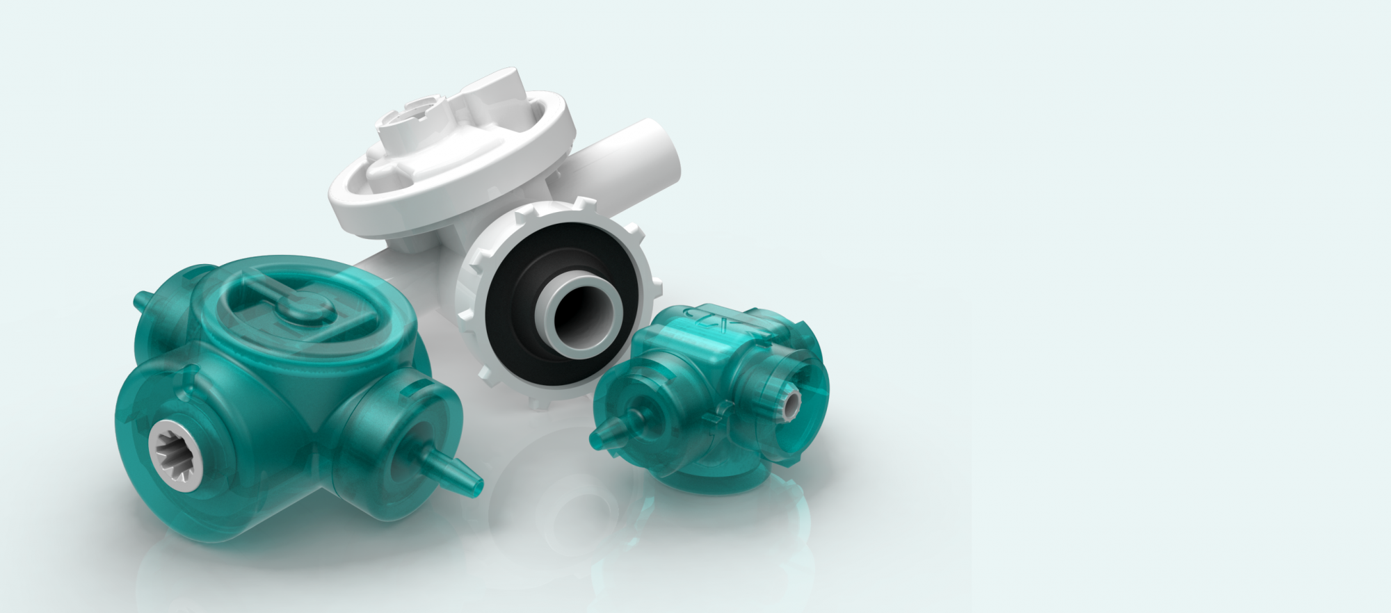 Quantex pumps - single use