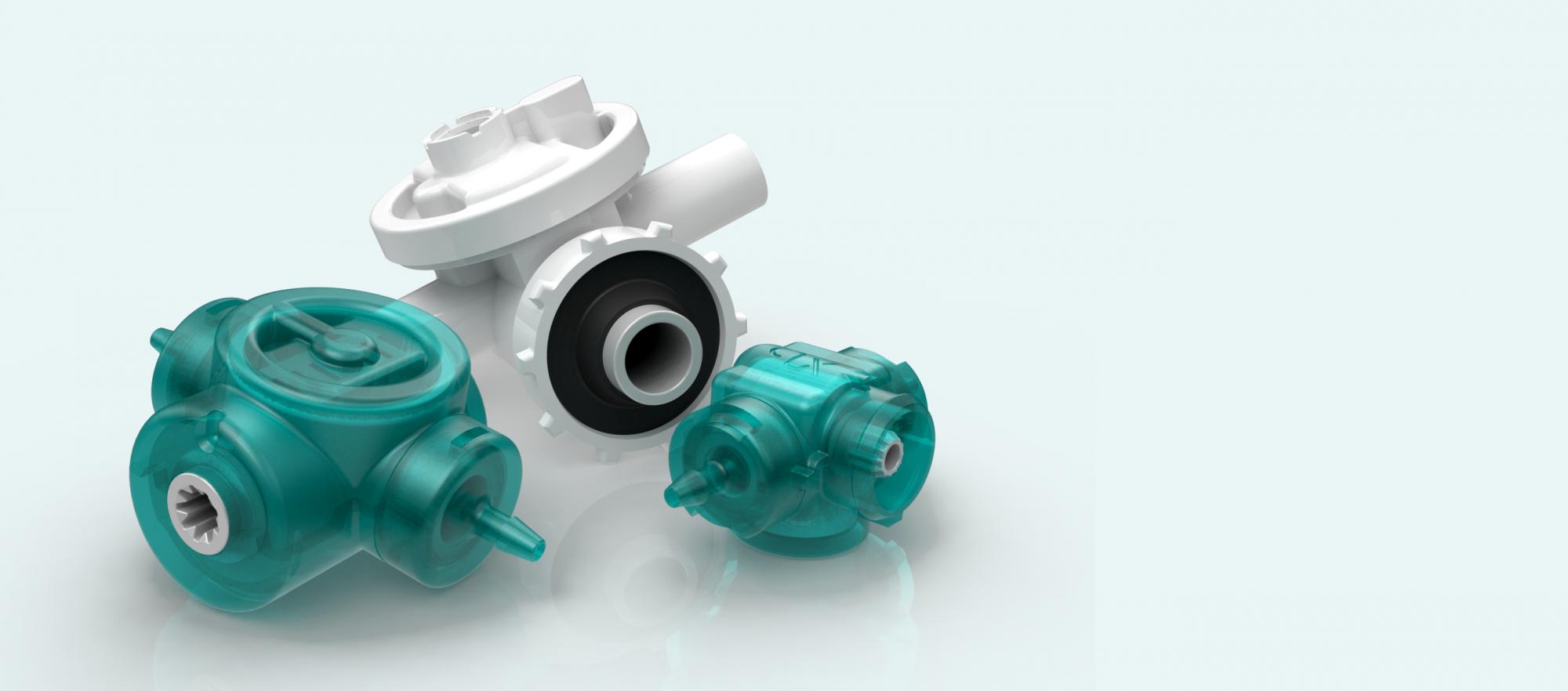 Quantex pumps - single use