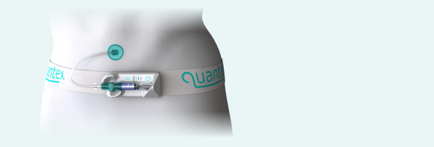 single use quantex medical pump