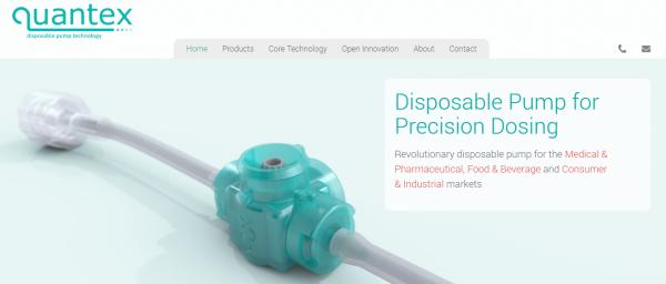Quantex launch new website